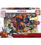 PUZZLE LES NOUVEAUX HEROES - 200 PIECES - PUZZLE SUPER HEROS - EDUCA - 16338