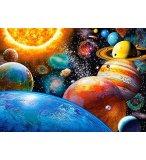 PUZZLE LES PLANETES ET LE SYSTEME SOLAIRE 180 PIECES - COLLECTION ESPACE / UNIVERS - CASTORLAND