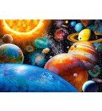 PUZZLE LES PLANETES ET LE SYSTEME SOLAIRE 300 PIECES - COLLECTION ESPACE / UNIVERS - CASTORLAND