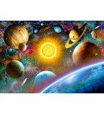 PUZZLE LES PLANETES ET LE SYSTEME SOLAIRE 500 PIECES - COLLECTION ESPACE / UNIVERS - CASTORLAND
