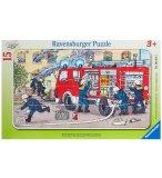 PUZZLE MA VOITURE DE POMPIER 15 PIECES - RAVENSBURGER - 06321