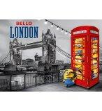 PUZZLE METALLISE LES MINIONS A LONDRE 1000 PIECES - COLLECTION NOIR ET BLANC - CLEMENTONI - 39412