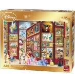 PUZZLE MICKEY ET LES PRINCESSES AU MUSEE DISNEY ART GALLERY 1500 PIECES - KING - 05263