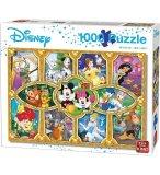 PUZZLE MOMENTS MAGIQUES AVEC NOS HEROS DISNEY 1000 PIECES - COLLECTION DISNEY - KING - 05279