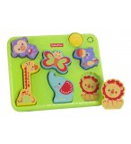 PUZZLE MUSICAL DE LA JUNGLE - FISHER PRICE - Y6978 - JOUET A ENCASTRER