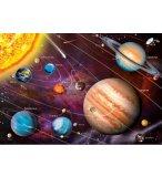 PUZZLE NEON LE SYSTEME SOLAIRE / LES PLANETES 1000 PIECES - COLLECTION FLUORESCENT - EDUCA - 14461