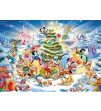 PUZZLE NOEL AVEC DISNEY 1000 PIECES - COLLECTION DISNEY - RAVENSBURGER - 192878