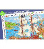 PUZZLE OBSERVATION LES PIRATES 100 PIECES - DJECO - DJ07506