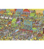 PUZZLE OU EST CHALIE ? CHARLIE COW-BOYS 1000 PIECES - COLLECTION HEROS - NATHAN - 87572