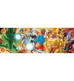 PUZZLE PANORAMA DRAGON BALL ET LES BOULES DE CRISTAL : SONGOKU 1000 PIECES - COLLECTION MANGA - CLEMENTONI - 39486