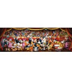 PUZZLE PANORAMA MICKEY CHEF D'ORCHESTRE 1000 PIECES - COLLECTION DISNEY - CLEMENTONI - 39445