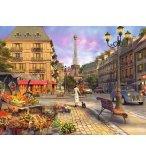 PUZZLE PARIS D'ANTAN ET LA TOUR EIFFEL 1500 PIECES COLLECTION VILLE ET MONUMENTS - RAVENSBURGER - 163090
