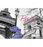 PUZZLE PARIS MON AMOUR - 1500 PIECES COLLECTION MONUMENT DE FRANCE - RAVENSBURGER - 16296