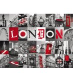 PUZZLE PAYS : SOUVENIR DE LONDRES 500 PIECES - COLLECTION URBAIN - NATHAN - 87210