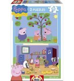 PUZZLE PEPPA LE COCHON / PIG 2 X 48 PIECES - EDUCA - 15920
