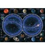 PUZZLE PLANISPHERE ET LES PLANETES - 1500 PIECES COLLECTION ASTROLOGIE - RAVENSBURGER - 16373