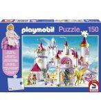PUZZLE PLAYMOBIL LE PALAIS DE LA PRINCESSE 150 PIECES - SCHMIDT - 56041