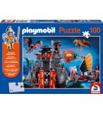 PUZZLE PLAYMOBIL PAYS DES DRAGONS : ASIE 100 PIECES - SCHMIDT - 56074