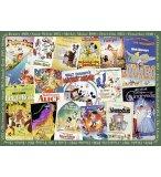 PUZZLE POSTERS VINTAGE 1000 PIECES - COLLECTION DISNEY - RAVENSBURGER - 198740