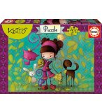 PUZZLE POUPEE KETTO 300 PIECES - EDUCA - 16814