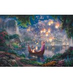PUZZLE PRINCESSE RAIPONCE 1000 PIECES - COLLECTION DISNEY - SCHMIDT - 59480