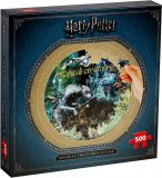PUZZLE ROND HARRY POTTER CREATURES MAGIQUES 500 PIECES - COLLECTION MONDE FANTASTIQUE  - WINNING MOVES - 2473