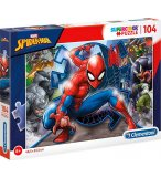 PUZZLE SPIDERMAN - 104 PIECES - COLLECTION SPIDER-MAN MARVEL - CLEMENTONI - 27116