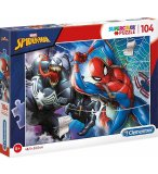 PUZZLE SPIDERMAN - 104 PIECES - COLLECTION SPIDER-MAN MARVEL - CLEMENTONI - 27117