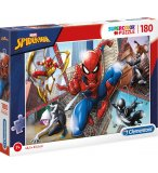 PUZZLE SPIDERMAN - 180 PIECES - COLLECTION SPIDER-MAN MARVEL - CLEMENTONI - 29302