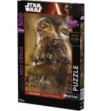 PUZZLE STAR WARS EPISODE 7 CHEWBACCA 500 PIECES - COLLECTION MES HEROS - NATHAN - 87214
