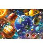 PUZZLE SYSTEME SOLAIRE 500 PIECES - COLLECTION PLANETE-  ESPACE - EDUCA - 18449