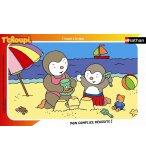 PUZZLE T'CHOUPI A LA PLAGE 15 PIECES - NATHAN - 86096