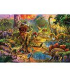 PUZZLE TERRE DES DINOSAURES 1000 PIECES - COLLECTION PREHISTOIRE - EDUCA - 17655