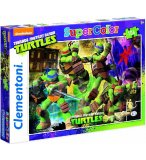 PUZZLE TORTUES NINJA / TEENAGE MUTANT NINJA TURTLES 104 PIECES - CLEMENTONI - 27906