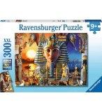 PUZZLE XXL DANS L'EGYPTE ANTIQUE 300 PIECES - COLLECTION SYSTEME SOLAIRE - RAVENSBURGER - 129539