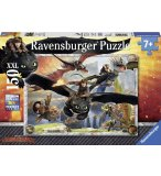 PUZZLE XXL DRAGONS EN FORMATION DE VOL - 150 PIECES - RAVENSBURGER - 10015