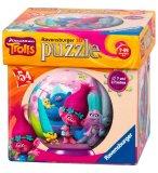 PUZZLEBALL 3D TROLLS POPPY SMIDGE BIGGIE ET LEURS AMIS - 54 PIECES - PUZZLE RAVENSBURGER - 119196