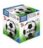 PUZZLEBALL BALLON ADIDAS OFFICIEL DE LA COUPE DU MONDE 1974 EN ALLEMAGNE 54 PIECES - 3D - PUZZLE RAVENSBURGER FOOTBALL - 1193702