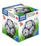 PUZZLEBALL BALLON ADIDAS OFFICIEL DE LA COUPE DU MONDE 1998 En FRANCE 54 PIECES - 3D - PUZZLE RAVENSBURGER FOOTBALL - 1193708