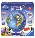 PUZZLEBALL DISNEY GLOBE XXL 180 PIECES - 3D - PUZZLE RAVENSBURGER - 12333