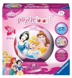 PUZZLEBALL DISNEY PRINCESSES 108 PIECES - 3D- PUZZLE RAVENSBURGER - 12208