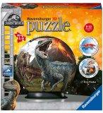 PUZZLEBALL JURASSIC WORLD : LA TERRE DES DINOSAURES 72 PIECES - 3D - PUZZLE RAVENSBURGER - 117574