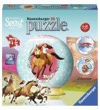 PUZZLEBALL SPIRIT: CHEVAL LUCKY 72 PIECES - 3D- PUZZLE RAVENSBURGER - 11143