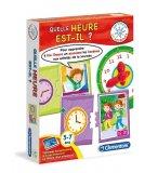 QUELLE HEURE EST-IL - AGITATEUR DE NEURONES - CLEMENTONI - 62526 - JEU EDUCATIF