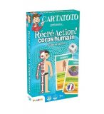 RECRE ACTION CORPS HUMAIN - CARTATOTO - FRANCE CARTES - JEU EDUCATIF