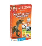 RECRE ACTION DINOSAURES - CARTATOTO - FRANCE CARTES - JEU EDUCATIF