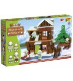 REFUGE DE MONTAGNE MAXIMILIAN FAMILIES 203 PIECES - UNICO PLUS - 8936 - JEU DE CONSTRUCTION
