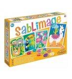 SABLIMAGE ANIMAUX SUD-AMERICAINS - SABLE COLORE - SENTOSPHERE - 8811 - LOISIR CREATIF