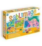 SABLIMAGE DINOSAURES - SABLE COLORE - SENTOSPHERE - 895 - LOISIR CREATIF
