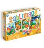 SABLIMAGE FABLES DE LA FONTAINE - SABLE COLORE - SENTOSPHERE - 8804 - LOISIR CREATIF
